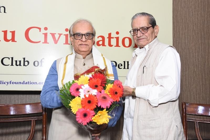 Lecture on Crisis of Hindu Civilisation